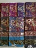 ผ้าพันคอ Pashmina พาสมีน่า ลาย ไทย PS02020T
