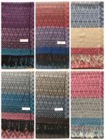 ผ้าพันคอ Pashmina พาสมีน่า ลาย ไทย PS02011T