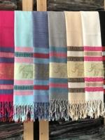 ผ้าพันคอ Pashmina พาสมีน่า ลาย ไทย PS02001T