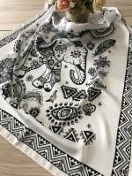 ผ้าพันคอ ผ้าคลุม ซาติน 70*70 ST05-013