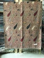 ผ้าพันคอ Pashmina พาสมีน่า ลาย ไทย PS02005T-1