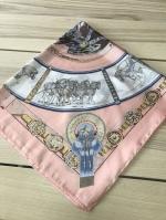 ผ้าพันคอ ผ้าคลุม ซาติน 70*70 ST05-038