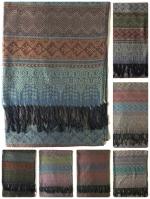 ผ้าพันคอ Pashmina พาสมีน่า ลาย ไทย PS02022T