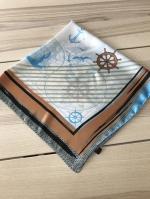ผ้าพันคอ ผ้าคลุม ซาติน 70*70 ST05-022