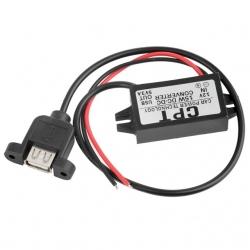 ตัวแปลงไฟ 12V เป็น 5V 3A USB 1 ช่อง