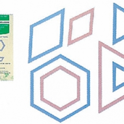 Patchwork Template-Triangle Hexagon