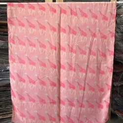 ผ้าพันคอ ชีฟอง สกรีนลาย Chiffon CF01-034