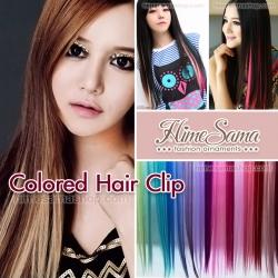 Colored Hair Clip สำหรับไฮไลท์ผม