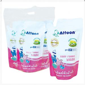 Attoon น้ำยาซักผ้าเด็ก แพค 3 ถุง