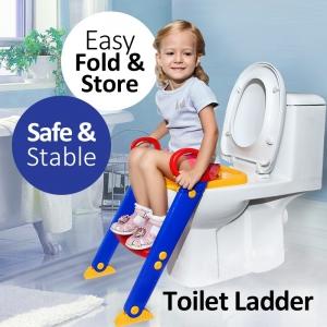 ฝารองชักโครกเด็กแบบมีบันได Toilet Ladder chair