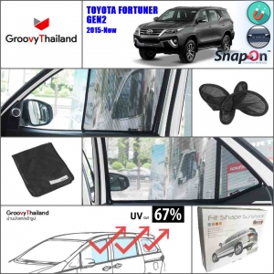 TOYOTA FORTUNER Gen2 2015-Now (SnapOn - 6 pcs)