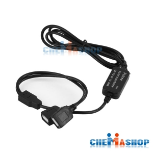 ตัวแปลงไฟ 12V เป็น 5V 3A USB 2 ช่อง