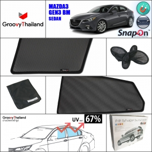 MAZDA 3 Gen3 BM 2014~Now Sedan (SnapOn - 4 pcs)