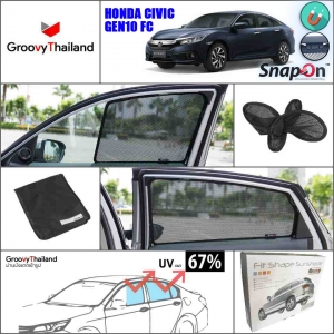 HONDA CIVIC Gen10 FC (SnapOn - 4 pcs)