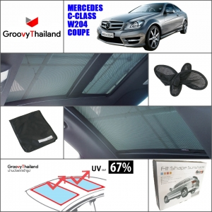 BENZ C-CLASS W204 COUPE Sunroof (2 pcs)