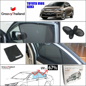 TOYOTA VIOS Gen3 2013~Now (4 pcs)