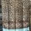 ผ้าคลุม อิสลาม วิสคอส viscose พิมพ์ลาย เสือ โทนน้ำตาล HJ07004 สำเนา thumbnail 2