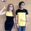 ชุดคู่รัก ชุดคู่ เป็นสีทูโทนเหลืองดำ สีสันสดใส thumbnail 2