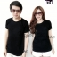 เสื้อยืดสีดำแฟชั่น ครบไซส์ใส่เป็นครอบคัว ราคาพิเศษ ราคาถูก thumbnail 1