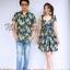 เสื้อคู่รักฮาวายลายดอก thumbnail 1