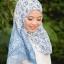 ผ้าคลุม อิสลาม วิสคอส viscose พิมพ์ลาย HJ07016-1 thumbnail 3
