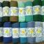 ผ้าคลุม วิสคอส viscose สีพื้น เนื้อเรียบ thumbnail 2