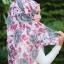 ผ้าคลุม อิสลาม วิสคอส viscose พิมพ์ลาย ดอกกุหลาบ HJ07022-1 thumbnail 4