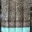 ผ้าคลุม อิสลาม วิสคอส viscose พิมพ์ลาย เสือ โทนน้ำตาล HJ07004 สำเนา thumbnail 3