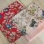 ผ้าพันคอ ผ้าคลุม ไหมญี่ปุ่น สกรีนลาย SJ01-013 thumbnail 1