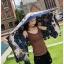ผ้าคลุม วิสคอส viscose พิมพ์ลาย เนื้อหนา (มีพู่)VC011012 thumbnail 5