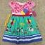 เสื้อผ้าเด็ก 5-7ปี size 5Y-6Y-7Y ลายลูกโป่ง สีชมพู/เขียว thumbnail 1