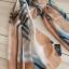 ผ้าพันคอ ผ้าคลุม ไหมญี่ปุ่น สกรีนลาย SJ01-014 thumbnail 2