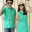 เสื้อคู่รักโปโล เสื้อแขนกุดสีเขียวออกแนวสปอร์ต บอกได้เลยสวยสุดๆ thumbnail 2