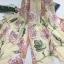 ผ้าคลุม อิสลาม วิสคอส viscose พิมพ์ลาย (เนื้อดี) HJ07053-1 thumbnail 2