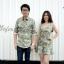 ชุดคู่รักลายทหาร เสื้อคู่ลายทหารแนวแฟชั่น thumbnail 2