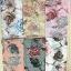 ผ้าคลุม อิสลาม วิสคอส viscose พิมพ์ลาย (เนื้อดี) HJ07053-1 thumbnail 3
