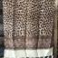 ผ้าคลุม อิสลาม วิสคอส viscose พิมพ์ลาย เสือ โทนน้ำตาล HJ07004 สำเนา thumbnail 5
