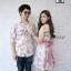 ชุดคู่รักออกงาน ชุดลายดอกสีโทนชมพูหวานๆ thumbnail 3