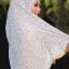 ผ้าคลุม อิสลาม วิสคอส viscose พิมพ์ลาย (เนื้อดี) HJ07052-1 thumbnail 5