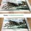 ภาพพิมพ์ ลายภาพวาดพู่กันจีน เสือคำราม 50*100cm cnn18 thumbnail 2