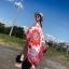 ผ้าพันคอ วิสคอส viscose สไตล์ ยิปซี VC01079 thumbnail 3
