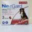 NexGard dogs 25-50 kg. . Exp.09/20 ขนาด 136 mg