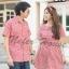 เสื้อคู่รัก ชุดคู่รัก สีแดงสลับสีขาวสีสวยใส่แล้วดูสดใสมากค่ะ thumbnail 1
