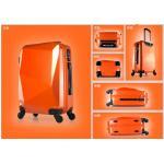 กระเป๋าเดินทางล้อลาก รุ่น เพชร สีส้ม ขนาด 24 นิ้ว