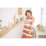 เสื้อกล้ามคลุมท้องแฟชั่น แนวคุณแม่สป็อตเกริล เนือ้ผ้ายืด โทน 3 สี สวยเหมือนรุปคะ โทนสีส้ม