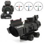 กล้อง Scope Visionking 4x32 Compact CQB มีรางข้าง+ศูนย์เรืองแสง Fiber Octic