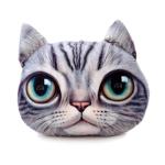 หมอนหน้าน้องแมว 3 มิติ ขนาด 50x40 cm (พร้อมส่ง)