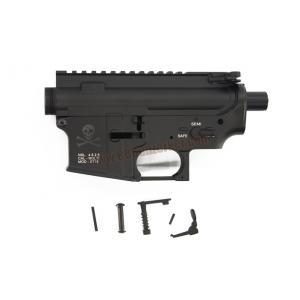Body เหล็ก M4 ลาย X-Skull สีดำ - E&C