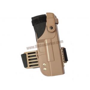 ซองพกนอกรัดต้นขา Tactical for Glock 17 / 19 / 27 / 34 (สีทราย)