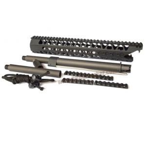 ชุดหน้า A type Angry Gun Wire Cutter 13.5 นิ้ว สีดำ